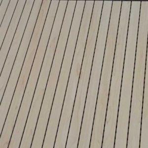 Insonorización acústica de perforado de MGO Panel de pared