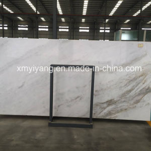 Floor&Wallのための中国の白い大理石のタイル