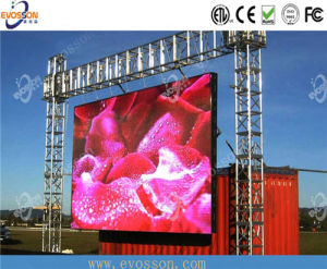 Outdoor Video Advertising Curved LED Screen Display