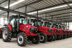 Marque Huaxia 25HP-220HP 4X2 4X4 le tracteur à roues de l'agriculture, Tracteur de ferme