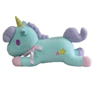 Giocattolo della peluche dell'unicorno farcito abitudine