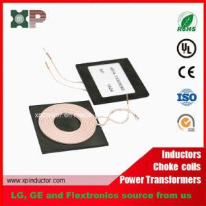 Tx de carga inalámbrica Qi bobina inductancia estándar de la bobina a bobina cargador inalámbrico5