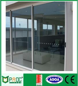 Norma australiana porta corrediça de alumínio de alumínio (Pnoc0015DLV)