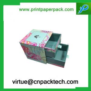 La moda de cabello Caja de embalaje personalizado con el tipo cajón