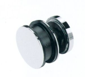 Aço inoxidável chuveiro de vidro corrediço da porta de vidro Conexões (FS-003)