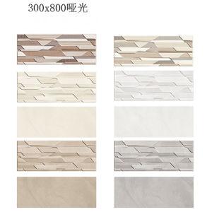 verglaasde de Matte Plattelander van 300X800mm Inkjet de Ceramische Tegel van de Muur voor Badkamers