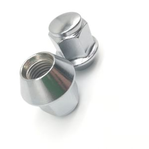 Écrou de roue M12 avec placage au chrome*1.5