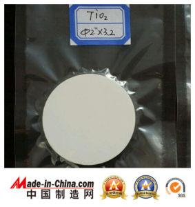 TiO2 pulverização catódica alvo com alta densidade com densidade relativa de 85% ~90%