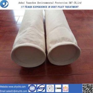 Agulha não tecida saco de filtro perfurado do PPS do filtro para o coletor de poeira