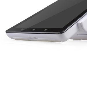 HandAndroid Positions-Maschine alle in einer mit Leser der Druckerabtastungs-NFC für Supermarkt