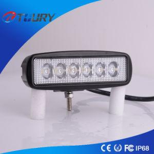 18Вт 6-дюймовый светодиодный фонарь направленного света фары рабочего освещения