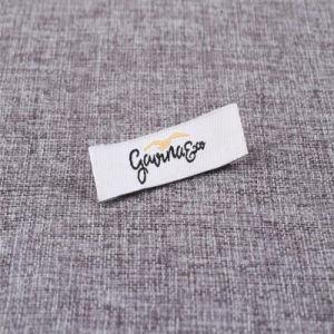 Logo de Marque du concepteur de la publicité des étiquettes tissées/main/Étiquette Nom Étiquette