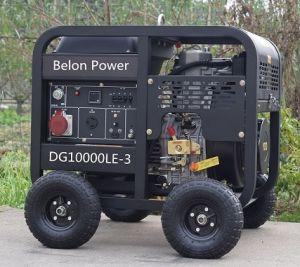6kw 3 van de Diesel van de Fase Luchtgekoelde Diesel Fase van de Generator 7kw 3 Draagbare Diesel van de Generator 6kw Generator