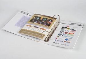 Livre de catalogue personnalisé avec classeur en métal