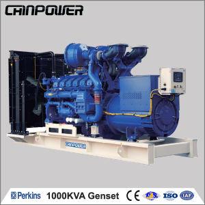 영국 Perkins의 Power를 위한 1000kVA Open Type Diesel Generator