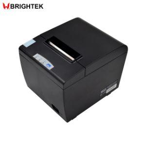 80mm POS Impressora térmica de recibos com sistema de corte e a Interface Serial/USB/Ethernet