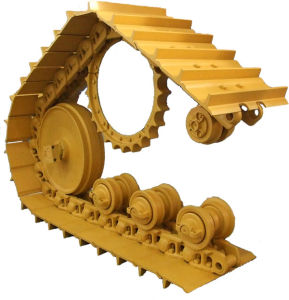 Le train roulant de pièces pour les excavatrices de la KATO