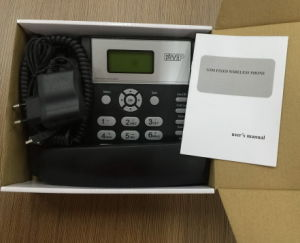 3G de Telefoon van de Desktop van WCDMA met Telefoontoestel GPRS & SMS Function/GSM