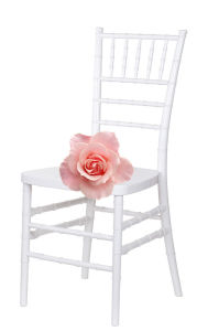 Commercial Event를 위한 해변 Wedding White Resin Tiffany Chair