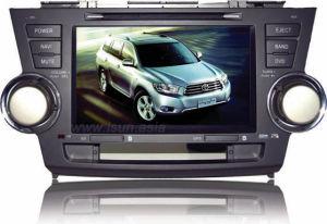 8 lettori DVD dell'automobile dell'abitante degli altipiani scozzesi di Toyota di pollice con il GPS (TS8626)