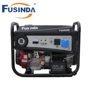 Generatore della benzina prodotto CA di monofase 6.5kw