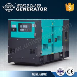Generatore diesel silenzioso della fabbrica di marca di Univ 30 KVA