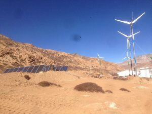 Generatore di vento orizzontale di asse 3kw