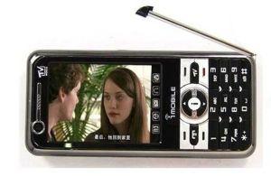 Mobile TV analógico Dual quad band cartões SIM