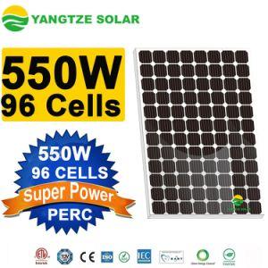 Yangtze à haute efficacité Panneau solaire 550W 48V Grande puissance panneau solaire pour revente