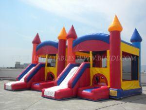 Hinchables Castillo de Bouncer deslizar los juegos, juguetes inflables, Moonwalks