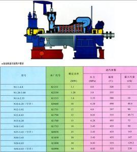 3MW Conjunto de turbogerador de condensação