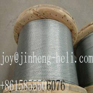 Filo del filo di acciaio/collegare galvanizzati del cavo