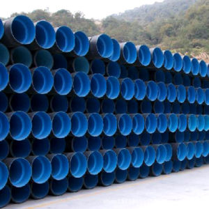 HDPE reforzado Double-Wall corrugación tubo con una alta calidad