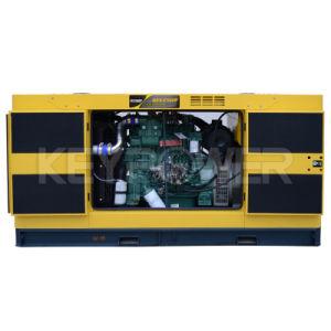 De geluiddichte Motor van de Macht van de Enige Fase van het Type van Diesel Reeks van de Generator Stille