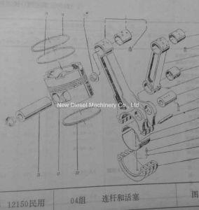 Ursprüngliche Qualitätsdetroit-Dieselpeilung 12V150