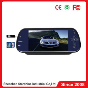 800*400 Resolution, MP5 Bluetooth Function를 가진 7.0 인치 Touch Screen Car Mirror Monitor