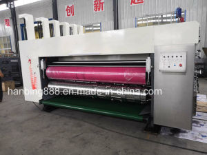 De cartón corrugado automático de la impresión flexo engranan Die-Cutting máquina cartón
