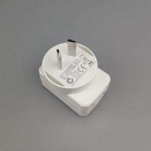 Schnelle Ladung 5V 2.4A USB-Großhandelsaufladeeinheit für Handy und Tabletten