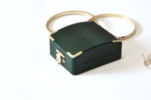 Vakje van het Document van het Fluweel van het Leer van de kwaliteit en van de Luxe het Plastic voor Cufflinks van het Horloge van de Gift van de Tegenhanger van de Oorringen van de Ring van Juwelen de Toebehoren van het Haar (YS303)
