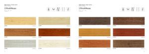 De originele Houten Tegel van de Vloer niet van de Misstap Ceramische