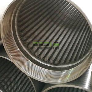 Fertigung-Edelstahl-Wasser-Draht-Filterrohr-Bildschirmjohnson-Bildschirm-Rohr