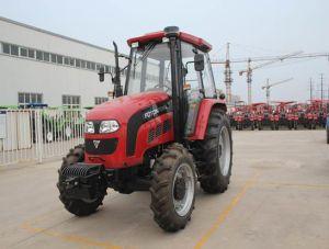 De fabriek van de Tractor van het Landbouwbedrijf van Lovol van Foton 4WD met Ce & OESO