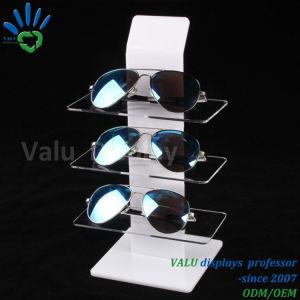 Cremagliera di visualizzazione degli occhiali da sole, visualizzazione di Eyewear, banco di mostra di Eyewear