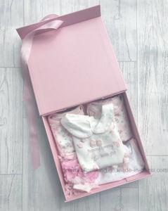Formato de livro personalizado dobrável e embalagens de papel caixa de oferta