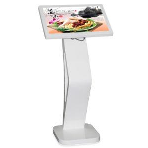 27 ZollHD Digital Signage LCD-Bildschirmanzeige-Netz, das Spieler-Informations-Screen-Kiosk für Gaststätte-Menü bekanntmacht