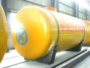 Сертификация ISO из стекловолокна подземных двойные стенки бака