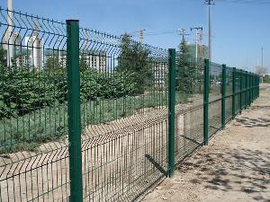 Y Post het Gelaste Opleveren van de Omheining van de Luchthaven van de Gevangenis van de Veiligheid van het Netwerk van de Draad