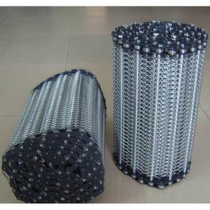 Courroie transporteuse en acier inoxydable pour la transformation des aliments, l'industrie du traitement thermique