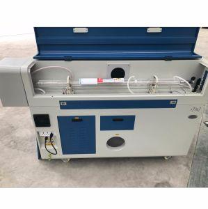 De kleine/Mini omhoog-benedenApparatuur van de Gravure van de Laser Scherpe met Beschermende Dekking