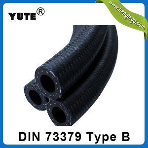 TS 16949 DIN 73379の2b綿のOverbraidedの燃料ホース